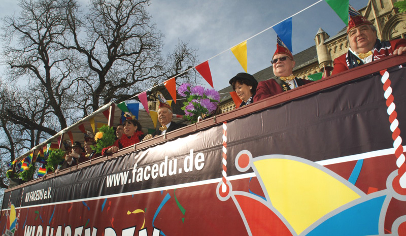 Großer Festumzug @ Erfurter Altstadt | Erfurt | Thüringen | Deutschland